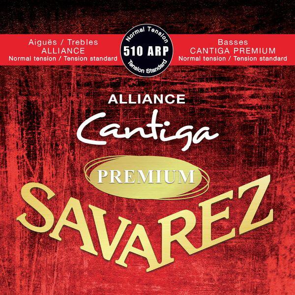 ギター用アクセサリー・パーツ, クラシックギター弦 22SAVAREZ 510 ARP -Normal tension- ALLIANCE Cantiga PREMIUM smtb-TK