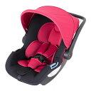 【送料無料】日本育児 【新生児-15ヶ月頃】新生児から使える トラベルシステム スマートキャリー イージーベースセット レッド 27001 / チャイルドシート ベビーキャリー ロッキングチェア