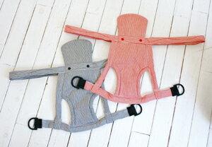 家事がラクになる昔ながらのひもタイプ おんぶひも ヒッコリー ストライプブラック ストライプレッド (日本製 綿100%)/ おばあちゃんもこれなら安心! おんぶ紐 シンプル 簡単 子守帯 出産祝い ギフト