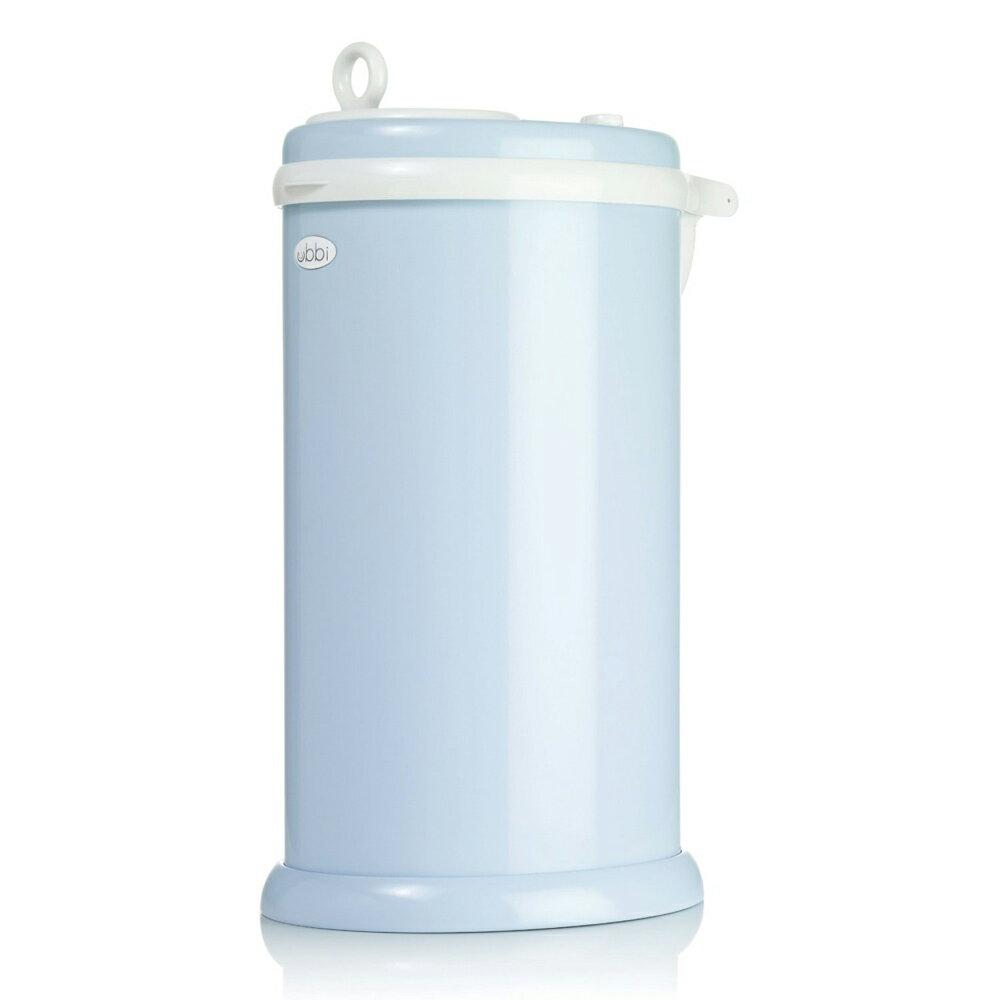 【人気カラー】日本育児 Ubbi 【ウッビィ】 インテリアおむつペール ライトブルー 3001 / おむつ ゴミ箱 ニオイ対策 おしゃれ スタイリッシュ コンパクト