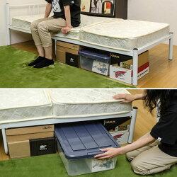 シングルベッド1人用パイプベッド簡易ベッド一人用スチールベッド床板メッシュ仕様♪【05P23Sep15】