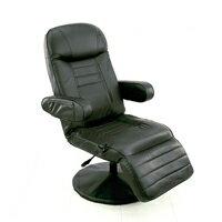 11段階 リクライニングチェア 油圧 昇降式 リビングチェア TVチェア フットレスト 4段階可動 椅子 休憩チェア 合皮 ♪ ネットカフェ テレビ チェア 漫喫 椅子 リクライニングチェア