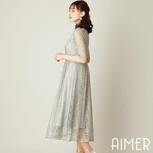 レディースファッション, ドレス SALE40OFF 7aimer anche S M L
