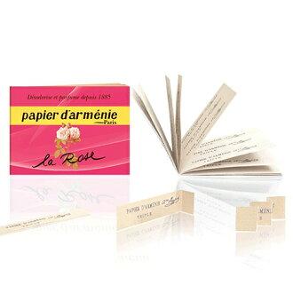 パピエダルメニイ triple rose aroma paper incense incense