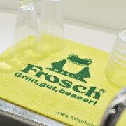 フロッシュ Frosch スポンジワイプ 大きめサイズ ●2枚セット【水切りスポンジ】【布巾ふき...