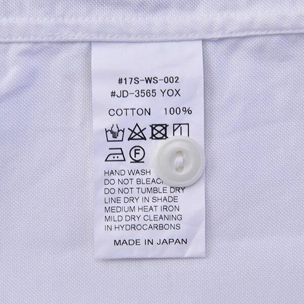 DANTON ダントン 半袖丸襟ポケット付プルオーバーシャツ #JD-3565YOX・COC[ダントン レディース 丸襟 半袖 ラウンドカラー コットン 2017SS]