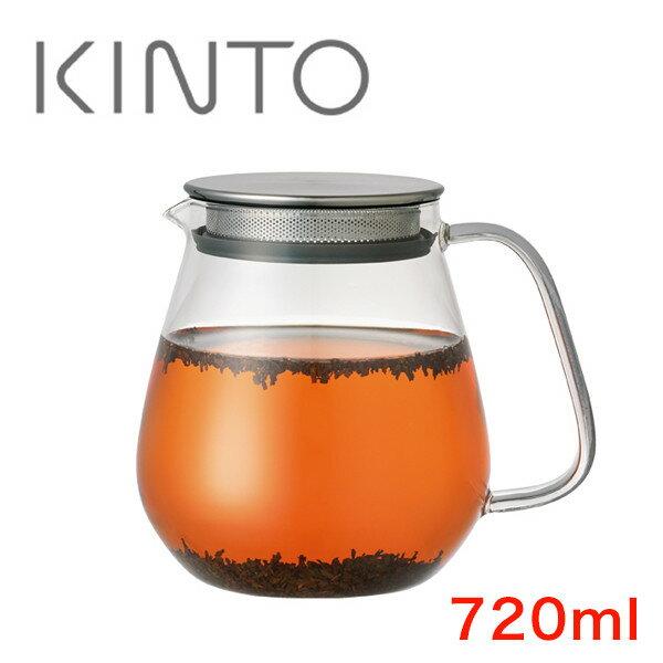 KINTO(キントー) UNITEA ワンタッチティーポット 720ml 紅茶/ティー/おうちカフェ/KINTO/8336   ティーポット ティー ポット お茶 ワンタッチ 耐熱 耐熱ポット 紅茶ポット ガラス ガラスポット