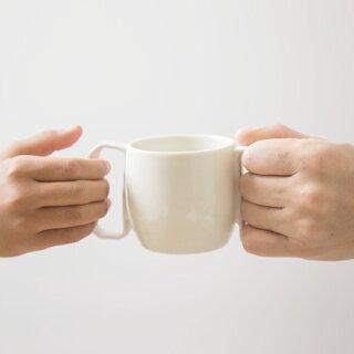 aiyu(アイユー)motte-forKidsマグカップSmotteシリーズ食器コップティーカップコーヒーカップ持ちやすい子ども子供電子レンジ対応食洗機対応磁器波佐見波佐見焼ギフトプレゼント出産祝いおしゃれ北欧