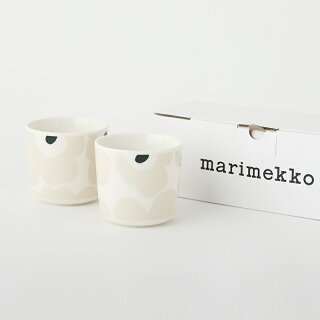 marimekko/マリメッコラテマグコーヒーカップセット2個入り2020冬ウニッコUnikko花柄コップマグカップワインワインレッド赤ギフト箱入り箱付きプレゼント