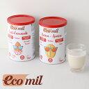 エコミル (ecomil) 有機アーモンドミルクストレート無糖 400g
