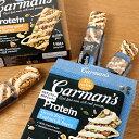 Carman's(カーマンズ) プロテインバー ヨーグルト&ベリー / ソルテッドキャラメルナッツバター 200g(40g×5本入り) | ナッツ プロテイン ダイエット グルテンフリー たんぱく質 高たんぱく シリアルバー 朝食 おやつ 個包装 ハラール認証 HALAL オーストラリア