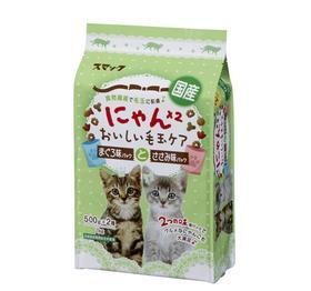2つの味別パックでグルメな猫も大満足♪毎日おいしく毛玉ケアスマックにゃん×2 おいしい毛玉ケ...