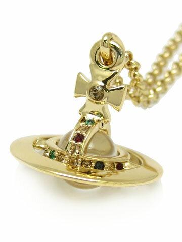 【'15春夏新着】【新品】Vivienne Westwoodニュータイニーオーブペンダント(GOLD)TINY ORB PENDANT(ヴィヴィアンウエストウッド・ビビアン)【3M】