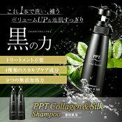 アイナボーテPPTコラーゲン&シルクシャンプー400ml脂性肌用(男性用)メンズ