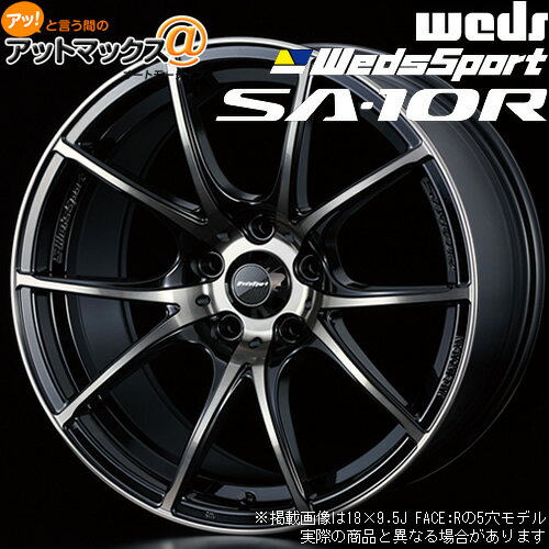タイヤ・ホイール, ホイール 4WEDS SA-10R 18 9.5J 45 5 PCD100 ZBB 100726389980