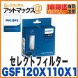 【フィリップス】【GSF120X110X1】交換フィルター 三層フィルター 自動車用空気清浄機 GoPure Compact GPC50・GPC10用 PM2.5/花粉を99%以上除去