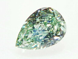 0.204ct FANCY.INTENSE.GREEN,SI1,ペア インテンスグリーンダイヤモンドルース