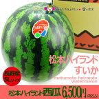 松本ハイランドすいか(西瓜)5L特大サイズ【長野産】(10kg以上)