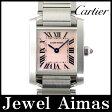 【Cartier】カルティエ タンクフランセーズ SM W51028Q3 ピンクシェル 文字盤 SS ステンレス レディース クォーツ【中古】【腕時計】