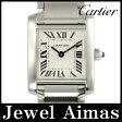 【Cartier】カルティエ タンクフランセーズ SM W51008Q3 アイボリー 白 文字盤 SS ステンレス レディース クォーツ【中古】【腕時計】