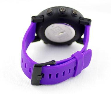 【SUUNTO】スントCOREコアバイオレットクラッシュパープルブラック文字盤プラスチックラバーストラップメンズビッグフェイスコンパスデジタルクォーツ【】【腕時計】