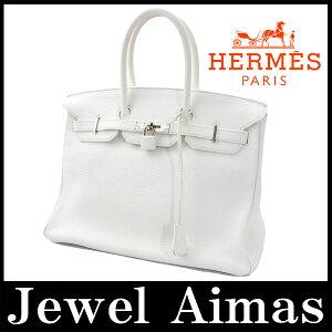 エルメス バーキン35 ホワイト 【HERMES】エルメス バーキン 35 トリヨンクレマンス 白 ホ...