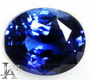 スリランカ産 ロイヤルブルー ブルーサファイア 8.14ct ルース 裸石 Royal Blue Sri Lanka 8ctアップ<GRS鑑別書付>【ジュエリー】RZL.N