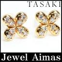 【スーパーSALE10%オフ】【TASAKI】タサキ 田崎 ダイヤモンド 0.12ct ピアス K18PG ピンクゴールド【中古】【小物】ZPL