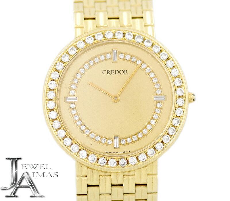 腕時計, メンズ腕時計 SEIKO 5A74-0420 K18YG