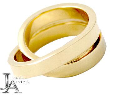 【Cartier】カルティエ パリ リング K18 750 YG イエローゴールド #51 11号 指輪 小物 アクセサリー 【中古】
