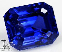 スリランカ産非加熱サファイア ロイヤルブルーサファイア 7.88ct エメラルドカット オクタゴナルカット サファイアルース 裸石 royal blue loose セイロン産<ノーヒート/unheated>【中古】【製品へのオーダー加工承ります。ご相談ください。】