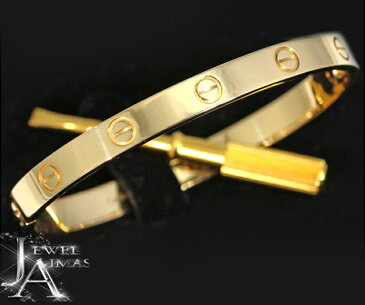【Cartier】カルティエ ラブブレスレット ブレスレット バングル #17 K18YG イエローゴールド <ドライバー付き>【中古】MJL