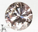 【スーパーSALE10%オフ!】ファンシーライトオレンジピンク ダイヤモンドルース 0.104ct SI-1 FANCY LIGHT ORANGY PINK <中央宝石>【ルース】ZPG