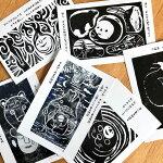 結城幸司のポストカード6枚セット