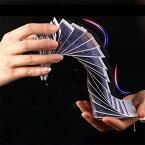 トランプ カードスプリングトランプ フルデックデック 滝カード ウォーターフォールトランプ カード引き ポーカートリック 近景