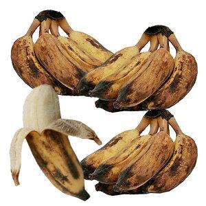 バナップル 約400g×3袋入り フィリピン産 (テレビで話題のデザートバナナ)