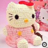 ハローキティ 立体ケーキ 約8〜10人分 3Dデコレーション Hello Kittyのキャラクターケーキ(キティ キティちゃん スイーツ 誕生日ケーキ ケーキ キャラクター お誕生日ケーキ 誕生日 かわいい 内祝い バースデー 出産内祝い 退職 可愛い 結婚記念日 サプライズ)