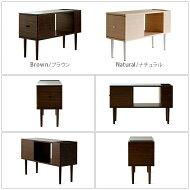 【送料無料】サイドテーブルテーブル木製ソファやベッド脇にピッタリサイドテーブルFEEMO〔フィーモ〕ブラウン