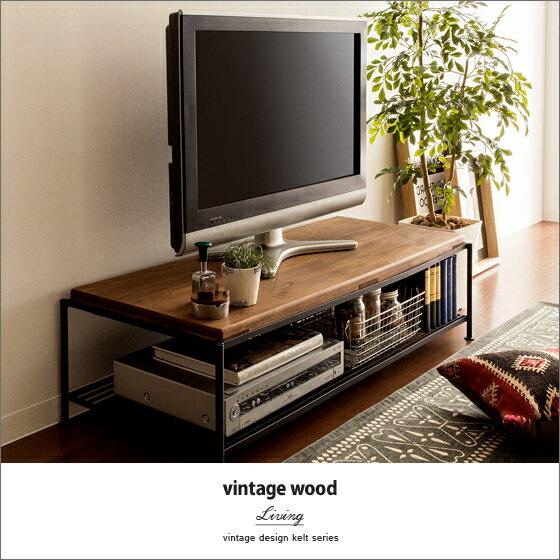 西海岸 ヴィンテージ テレビボード vintage wood TV board〔ヴィンテージ ウッド テレビボード〕