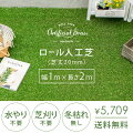 ロール人工芝(芝丈20mm) 幅1m×長さ2m