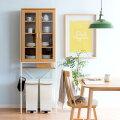 北欧テイストのキッチンに合う、収納力があっておしゃれな食器棚を教えて