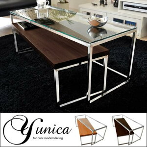 テーブル ローテーブル リビングテーブル 木製 ガラス シンプルネストテーブル センターテーブ...