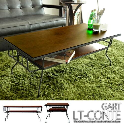 送料無料 特徴的なデザインで魅せるテーブル コーヒーテーブル 木製テーブル ウッドテーブル ウォ...