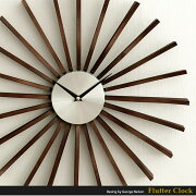 掛け時計 おしゃれ クロック ウォール ジョージ ネルソン ミッドセンチュリー シンプル フラッタークロック