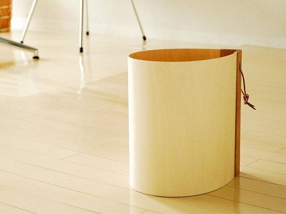 ゴミ箱 ヤマト工芸 天然木 ダストボックス ティアータイプ ナチュラル