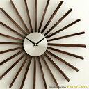 【最大1,000円OFFクーポン配布中】 掛け時計 壁掛け時計 時計 おしゃれ 掛時計 クロック ウォールクロック ジョージネルソン George Nelson 北欧 レトロ ミッドセンチュリー シンプル Flutter Clock 〔フラッタークロック〕