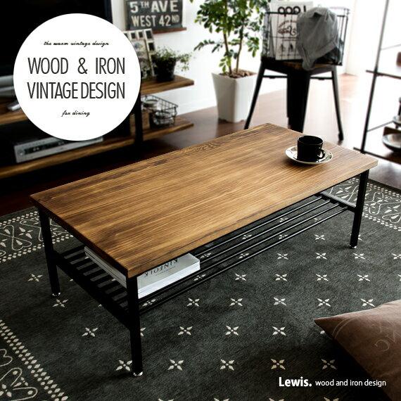 テーブルローテーブルセンターテーブルリビングテーブルカフェ北欧西海岸木製ヴィンテージtableおしゃれ無垢アイアンレトロモダンカ