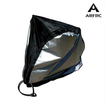 airfric 自転車カバー 子供乗せ 防水 厚手 丈夫 飛ばない サイクルカバー UVカット 風飛び防止 撥水 収納袋付き おしゃれ 29インチまで対応 JT-007