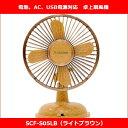 【送料別:小型宅急便】ミニミニ扇風機アダプター付 ライトブラ...