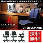 【メーカー直送】【オフィスチェア】 DUOREST デュオレスト DR-250SP-ABK(メッシュ:ブラック)  [正規販売店]